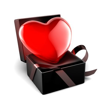 Le coeur est le bijou de saint valentin le plus offert